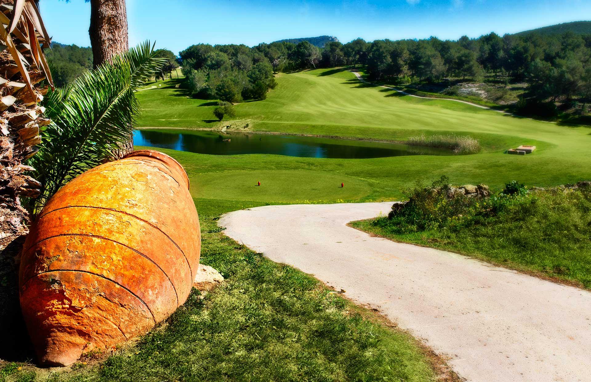 Golf Ibiza   Courses
