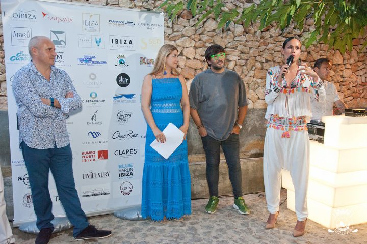Wally López y Mireia Canalda en Golf Ibiza