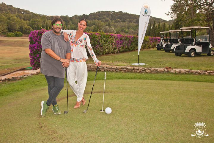 Wally Lopez y Mireia Canalda, Golf Ibiza