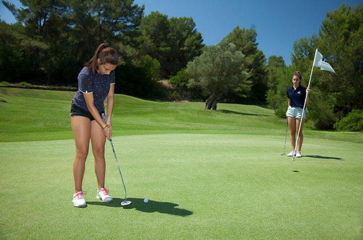 El Putt en golf