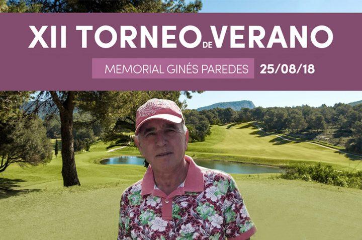 12º Edición Torneo de Verano – Memorial Ginés Paredes